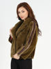Picture of MODAQUEEN Women Fur Accesory Jacket 1852