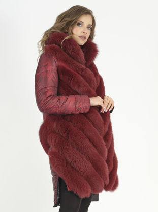 Picture of MODAQUEEN COLORFUL COAT 570