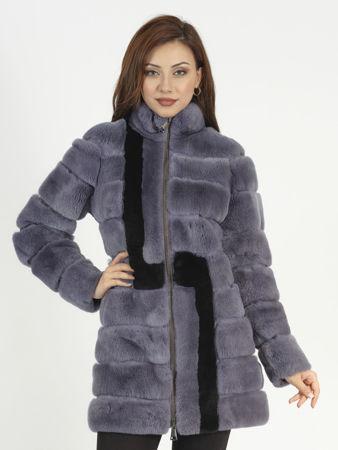 Picture of MODAQUEEN Women's Orylag Fur Accessory Coat 1095